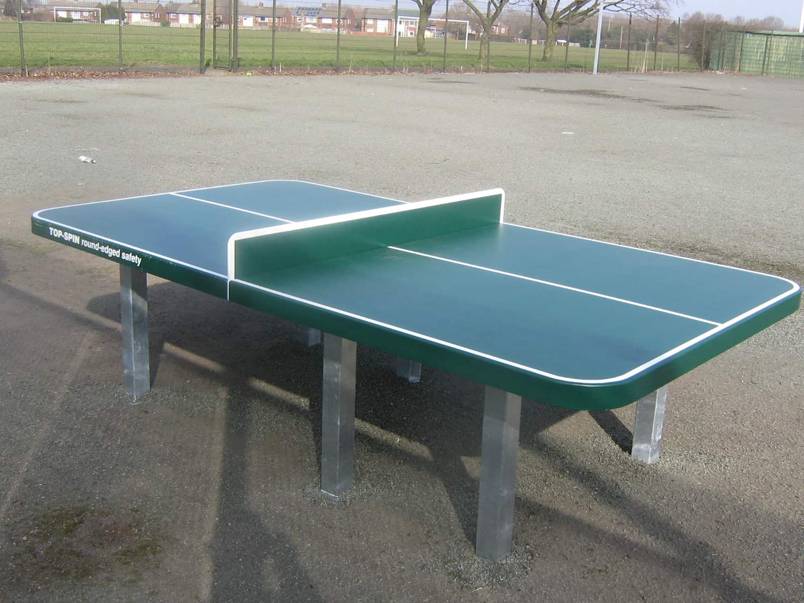 Steel Table Tennis Table Streetscape Products Amp Services