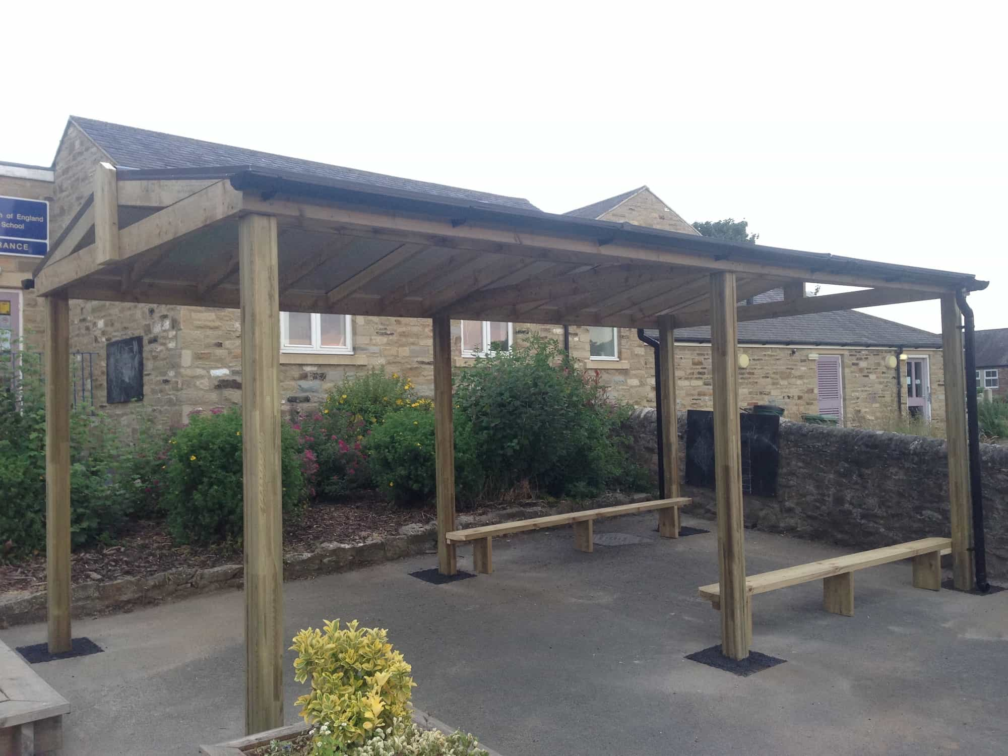 Free Standing Timber Canopy Streetscape Products Amp Services