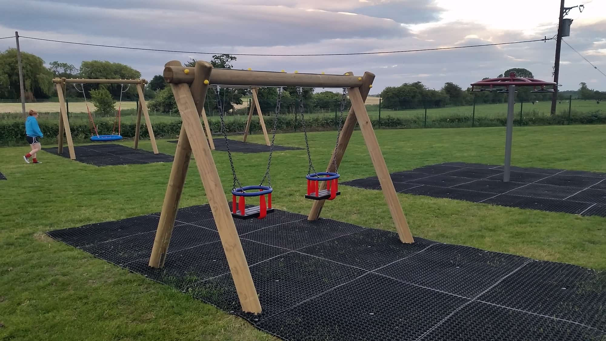 Timber Junior Swing Streetscape Products & Services