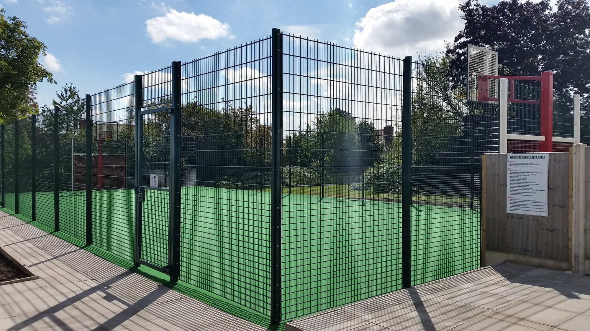 Muga Single Court Synthetic Streetscape Products