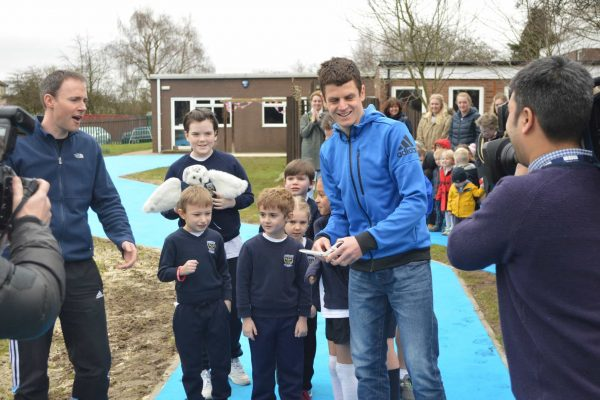 Jonny Brownlee Official Opening